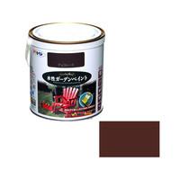 アサヒペン AP 水性ガーデンペイント 0.7L チョコレート 9011698 (直送品)