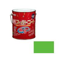 アサヒペン AP 油性スーパーコート 1.6L 若草色 9011743 (直送品)