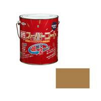 アサヒペン AP 油性スーパーコート 1.6L ソフトオーカー 9011770 (直送品)