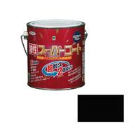 アサヒペン AP 油性スーパーコート 0.7L ツヤ消し黒 9011785 (直送品)