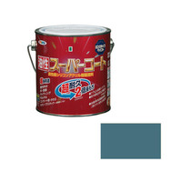 アサヒペン AP 油性スーパーコート 0.7L ストーンブルー 9011792 (直送品)