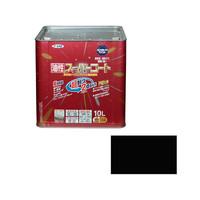 アサヒペン AP 油性スーパーコート 10L 黒 9011892 (直送品)