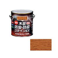 アサヒペン AP油性木部防虫防腐ステインEX 0.7Lライトオーク 9016485 (直送品)