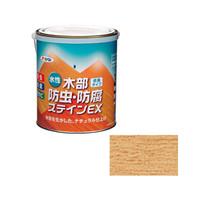 アサヒペン AP 水性木部防虫防腐ステインEX1.6L透明クリヤ 9016640 (直送品)