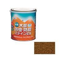 アサヒペン AP 水性木部防虫防腐ステインEX 1.6Lウォルナット 9016643 (直送品)