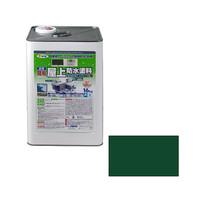 アサヒペン AP 水性簡易屋上防水塗料 16KG グリーン 9016860 (直送品)