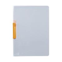 セキセイ クリップインファイル 橙 SSS-105-51(20) 1箱(20冊入) (直送品)