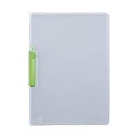 セキセイ クリップインファイル L緑 SSS-105-33(20) 1箱(20冊入) (直送品)