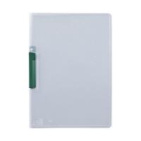 セキセイ クリップインファイル 緑 SSS-105-30(20) 1箱(20冊入) (直送品)