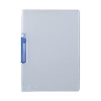 セキセイ クリップインファイル ブルー SSS-105-10(20) 1箱(20冊入) (直送品)