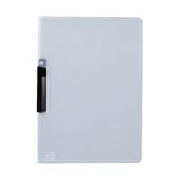 セキセイ クリップインファイル 黒 SSS-105-60(20) 1箱(20冊入) (直送品)