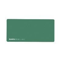 サンポー 捺印用マット 緑 M-21 ミドリ 1枚 (直送品)