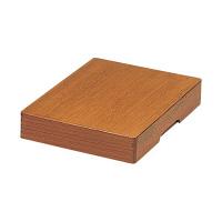 yoshino 木製決裁箱 B4 YB-B4 1個 (直送品)