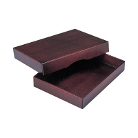 yoshino 高級木製決裁箱 A4 Y-257 1個 (直送品)