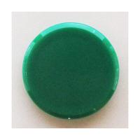 ミツヤ カラーマグネット 緑 50mm MR-50-GR 1パック(10個入) (直送品)