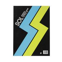 ゼネラル ゾルカーボン紙 片面筆記 藍 #1300-L 1冊 (直送品)