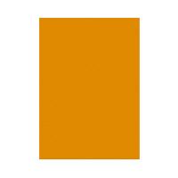 タカ印 蛍光ポスター A4 橙 13-3184 1冊 (直送品)