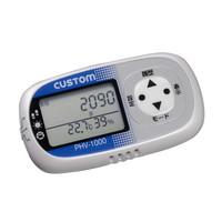 カスタム 熱中症指数/乾燥指数チェッカー付き活動量計 PHV-1000W (直送品)
