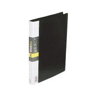 コレクト 名刺整理帳 A4L 500枚用 黒 K-615-BK 1冊 (直送品)