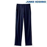 住商モンブラン JUNKO KOSHINO パンツ 男女兼用 ネイビー/白 3L JK751 (直送品)