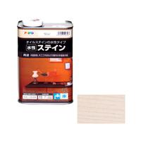 アサヒペン AP 水性ステイン 1L ホワイト 9010526 (直送品)