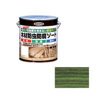 アサヒペン AP 木材防虫防腐ソート 2.5L グリーン 9011622 (直送品)