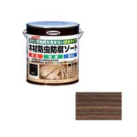 アサヒペン AP 木材防虫防腐ソート 2.5L ブラウン 9011624 (直送品)