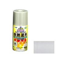 アサヒペン AP 耐熱塗料スプレー 300ML 銀 901237 (直送品)