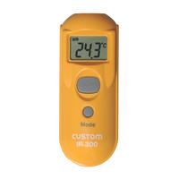 カスタム 放射温度計 IR-300 (直送品)