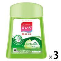ミューズノータッチ グリーンティーの香り 詰替250ml 1セット(3個) 【泡タイプ】