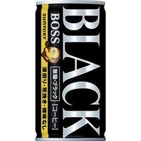 ボス 無糖ブラック 185g 60缶