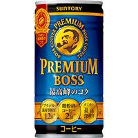 サントリー プレミアムBOSS(ボス) 185g 1セット(60缶:30缶入×2箱)