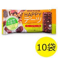 HAPPYデーツ フルーツグラノーラ 1セット(10袋) UHA味覚糖