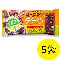 HAPPYデーツ フルーツグラノーラ 1セット(5袋) UHA味覚糖