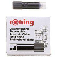 ロットリング イソグラフカートリッジ S0215630 黒 3パック(15本入) (直送品)