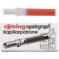 ロットリング ラビットグラフカートリッジ S0215710赤 3パック(9本入) (直送品)
