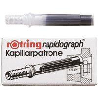 ロットリング ラビットグラフカートリッジ S0194640黒 3パック(9本入) (直送品)