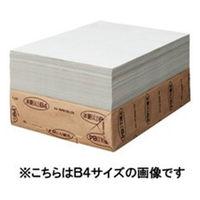王子製紙 更紙 A4 1000枚入 苫更 トマザラA43K1000マイ 3包 (直送品)