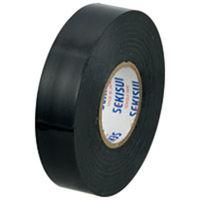 セキスイ ビニールテープ V360K02 20m 黒 5巻 (直送品)