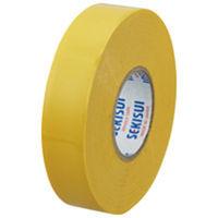 セキスイ ビニールテープ V360Y02 20m 黄 5巻 (直送品)