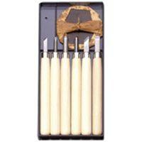 義春刃物 マルイチ彫刻刀 Rー6 プラケース6本組 3セット(1セット6本組) (直送品)