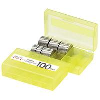 オープン工業 コインケース Mー100W 100円用 収納100枚 10個 (直送品)