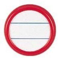 ソニック 丸型名札 NFー15ーR 両用 大 赤 10枚 (直送品)