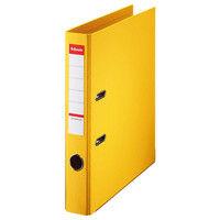 ESSELTE レバーアーチファイル 48071 A4S 黄 3冊 (直送品)
