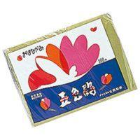 合鹿製紙 おはながみ 五色鶴 No.6 緑 3パック(1500枚入) (直送品)