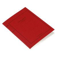 エトランジェ・ディ・コスタリカ A5ノート[FAKE]レッド FAKEー23ー02 10冊 (直送品)