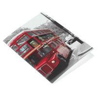 エトランジェ・ディ・コスタリカ B6ノート[London]バス LNDNー24ー03 10冊 (直送品)