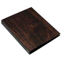 エトランジェ・ディ・コスタリカ A4 2Hファイル[WOOD]ブラウン WOODー02ー03 2冊 (直送品)