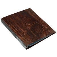エトランジェ・ディ・コスタリカ A4名刺ファイル[WOOD]ブラウン WOODー19ー03 3冊 (直送品)
