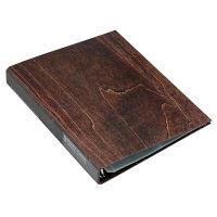 エトランジェ・ディ・コスタリカ A4葉書ファイル[WOOD]ブラウン WOODー20ー03 3冊 (直送品)